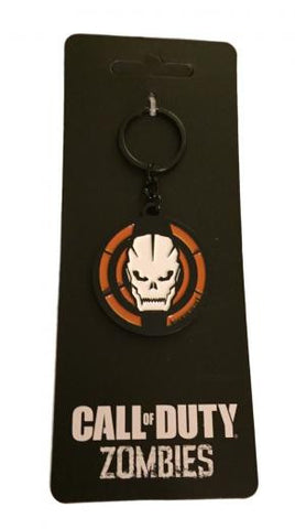 Call of Duty III Zombies Enamel Metal Keychain Key Ring