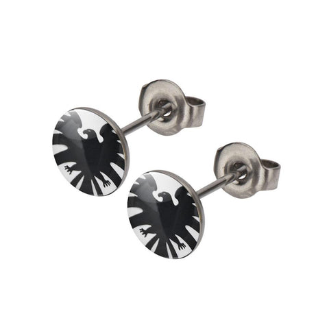 Marvel Comics Agents of S.H.I.E.L.D. Metal Stud Stainless Steel Post Earrings