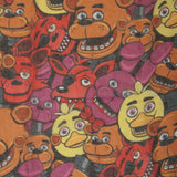 Five Nights At Freddy's Big Faces FNAF Friends Infinity Soft Polyester Scarf