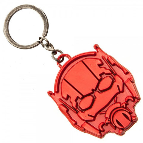 Marvel Comics Ant-Man Painted Shield Metal Keychain Key Ring