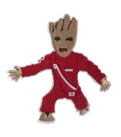 Baby Groot Character GOTG Iron On Cosplay Patch