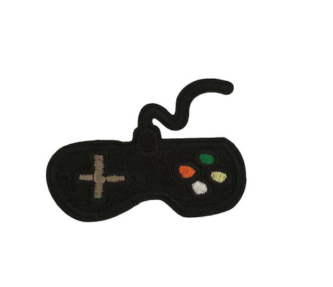 Video Game Controller Novelty Cosplay Iron On Patch