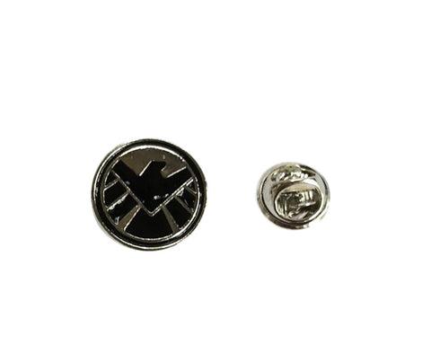 Agents of Shield Enamel Filled Metal Lapel Cosplay Pin