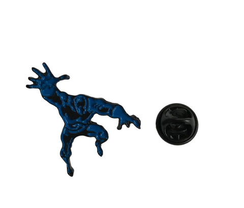 Black Panther Figure Action Pose Colored Enamel Finish Metal Pin