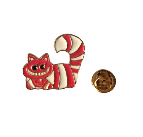 Cheshire Cat Alice In Wonderland Themed Cosplay Enamel Metal Pin