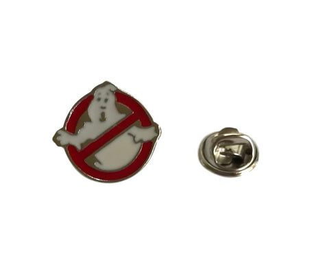 Ghostbusters No Ghost Enamel Filled Metal Lapel Cosplay Pin