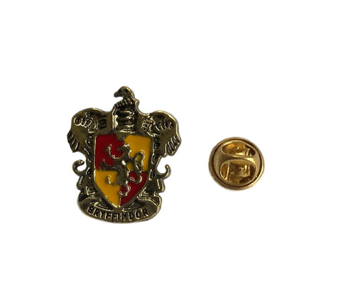 Harry Potter Gryffindor House Crest Enamel Filled Metal Lapel Cosplay Pin