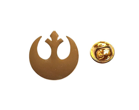 Star Wars Rebel Alliance Gold Tone Color Metal Pin