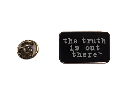 The X Files the truth is out there Enamel Metal Pin