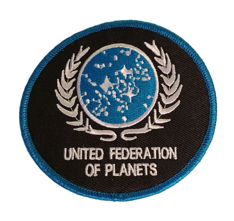 Star Trek The Next Generation United Federation of Planets UFP Embroidered Iron On Patch