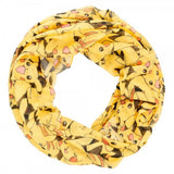 Pokemon Pikachu Lots and Lots of Pikachu Print Infinity Soft Polyester Scarf