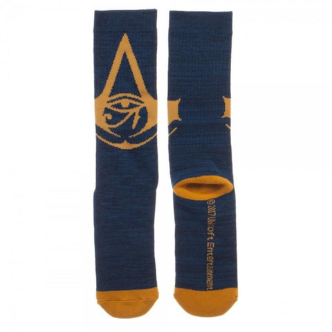 Assassin's Creed Origins Adult Size Poly/Cotton Crew Socks