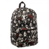 Suicide Squad Logo Characters AOP Full Size Back Pack Laptop Bag