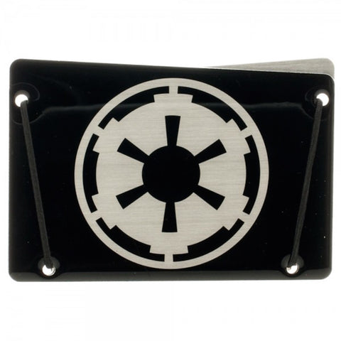Star Wars Trooper Empire Ultra Thin Aluminum Card Wallet New Licensed Disney
