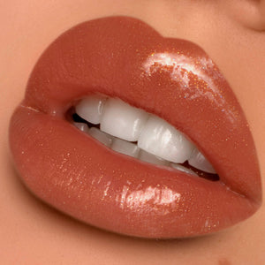 Ice Cream Cone Lip Gloss - Caramel