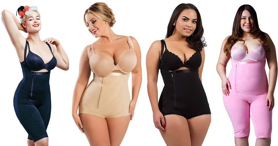 Shapewear Compression, Plus Size shapewear, Post Surgical Garments - Plus Size Compression Leggings, Bras - Diva's Curves