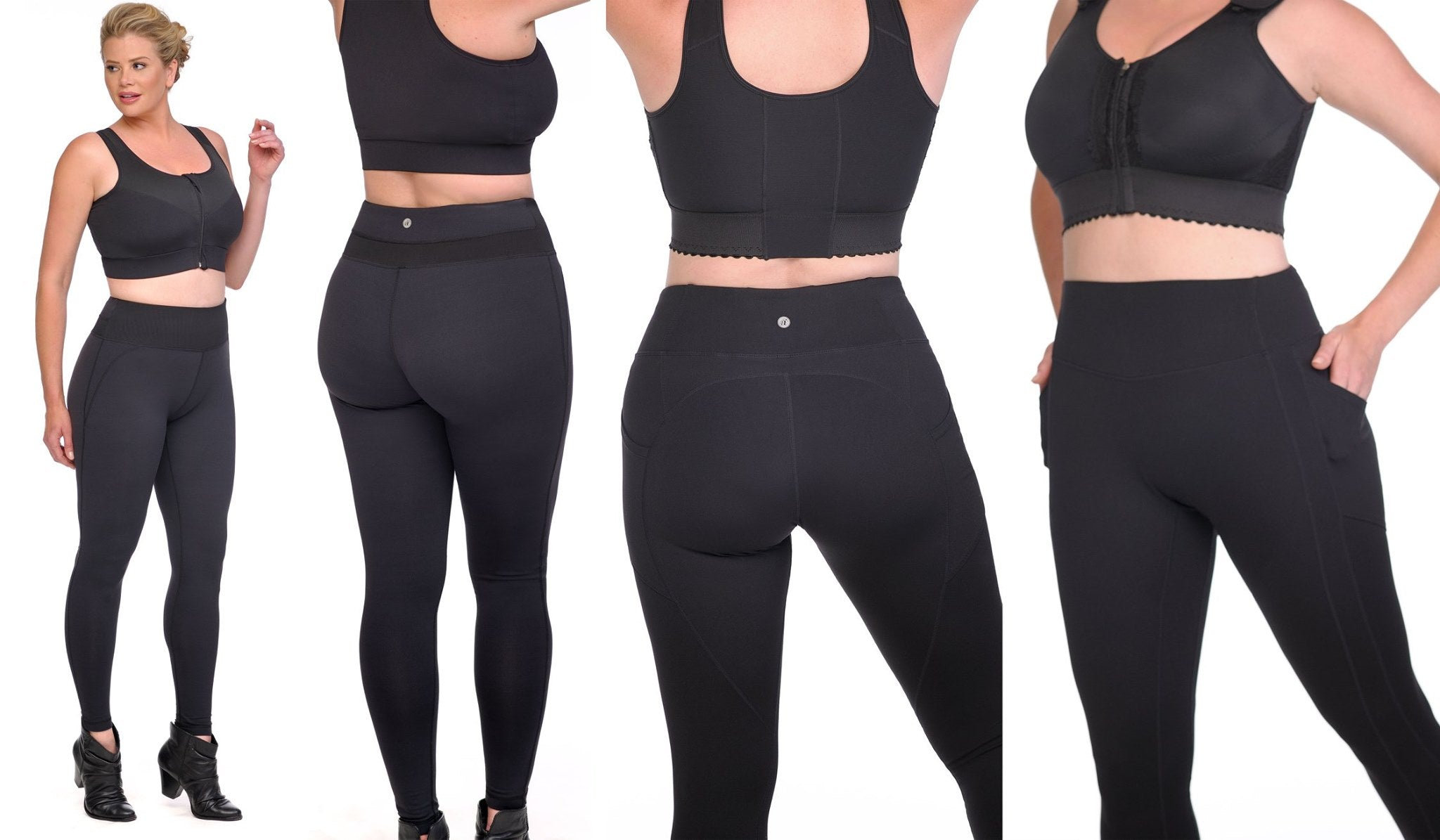 Diva's Curves Compression Leggings
