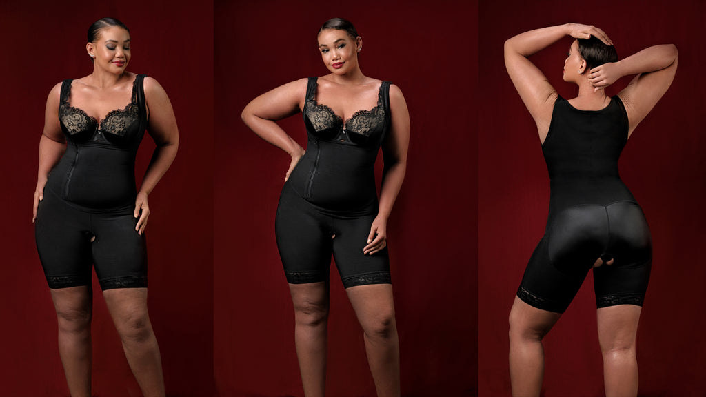 Full Coverage Shapewear Compression - Post Surgical Garment - Diva's Curves