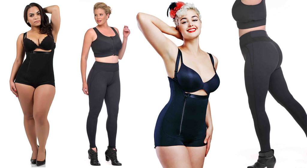 Sport Bras, Plus Sizes Bras,Compression Bras, Post Surgical Bras, Shapewear Compression, Plus Size shapewear, Post Surgical Garments - Plus Size Compression Leggings, Bras - Diva's Curves