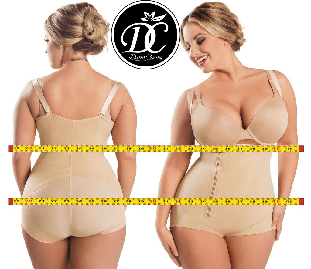 Diva's Curves Compression Shapewear Short Beige