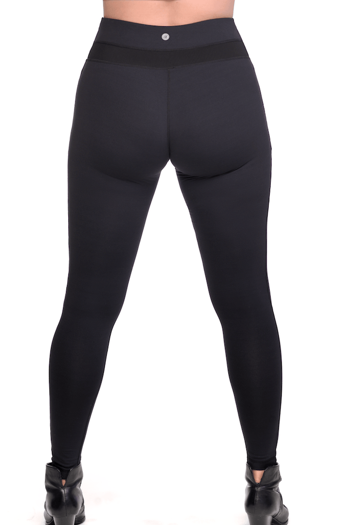 c59fe2b356 Power Sculpt Shaping Compression Leggings with high- rise mesh ...