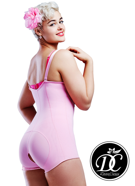 Final Clearance 50% Off Ultimate Shapewear Compression Garments - Post Surgical Garments – Short Pink - Limited Sizes Available