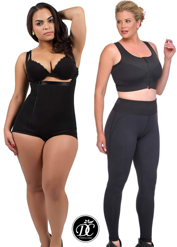 SALE Bundle Short Black Shapewear & Shaping Compression Leggings