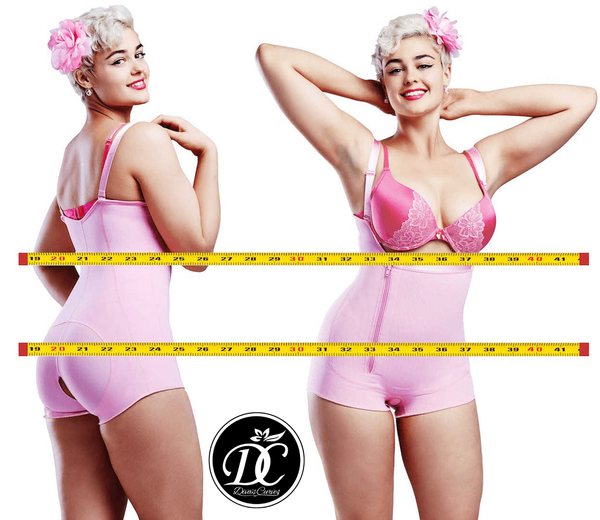 Ultimate Shapewear Compression Garments - Post Surgical Garments – Short Pink - Limited Sizes Available