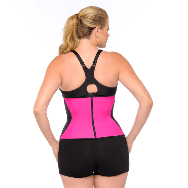 Waist Trainer - Waist Cincher, Pink with Black Curve - SEO Optimizer Test