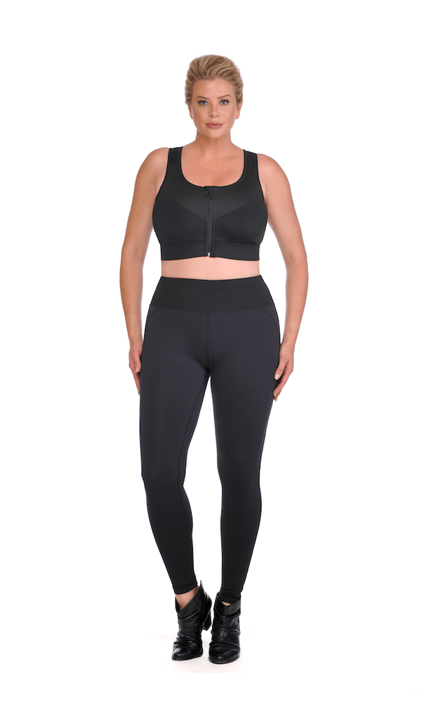 0a0ed3654e Home › Power Sculpt Shaping Compression Leggings with high- rise mesh  support panel. [shapewear] - Diva's Curves. [shapewear] - Diva's Curves;  [shapewear] ...