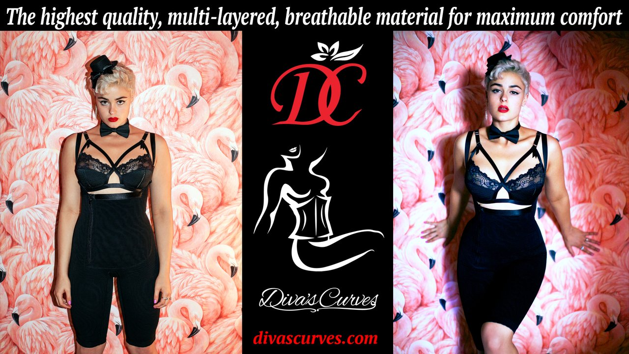 Diva's Curves Shapewear, Post Surgical Compression, Plus Size Shapewear