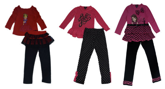 Girls Legging Set
