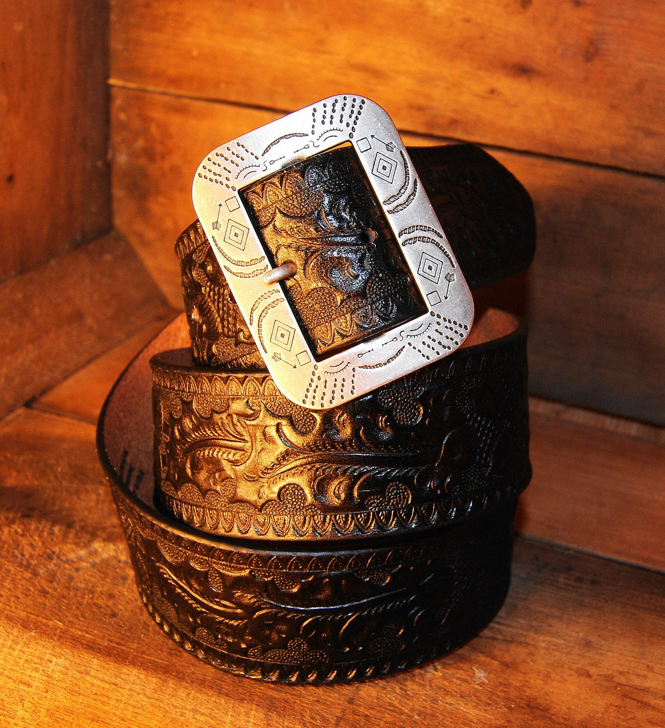 ACE Western Belt, Black