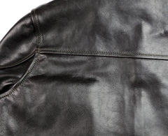Aero Board Racer, size 44, Blackened Brown Horsehide