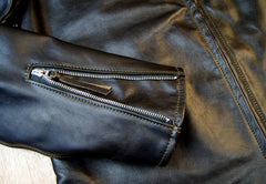 Aero Board Racer, size 46, Blackened Brown Vicenza Horsehide