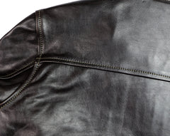 Aero Board Racer, size 40, Blackened Brown Vicenza Horsehide