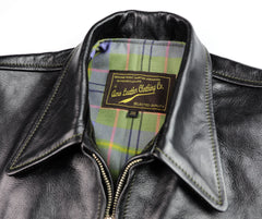 Aero Premier Highwayman, size 38, Blackened Brown Vicenza Horsehide