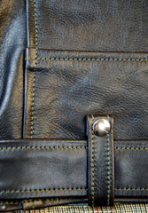 Aero D-Pocket Ridley, size 40, Blackened Brown Vicenza Horsehide