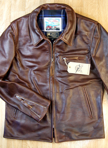 Aero Seven, size 44, Tumbled Brown Chromexcel Horsehide