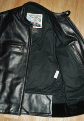 Used Aero Cafe' Racer, size 38, Black CXL Steerhide