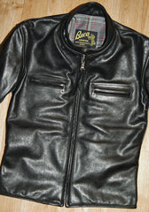 Aero Board Racer, size 34, Black Vicenza Horsehide