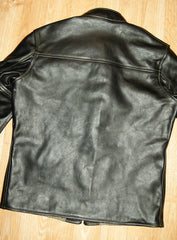 Aero Board Racer, size 40, Black Vicenza Horsehide