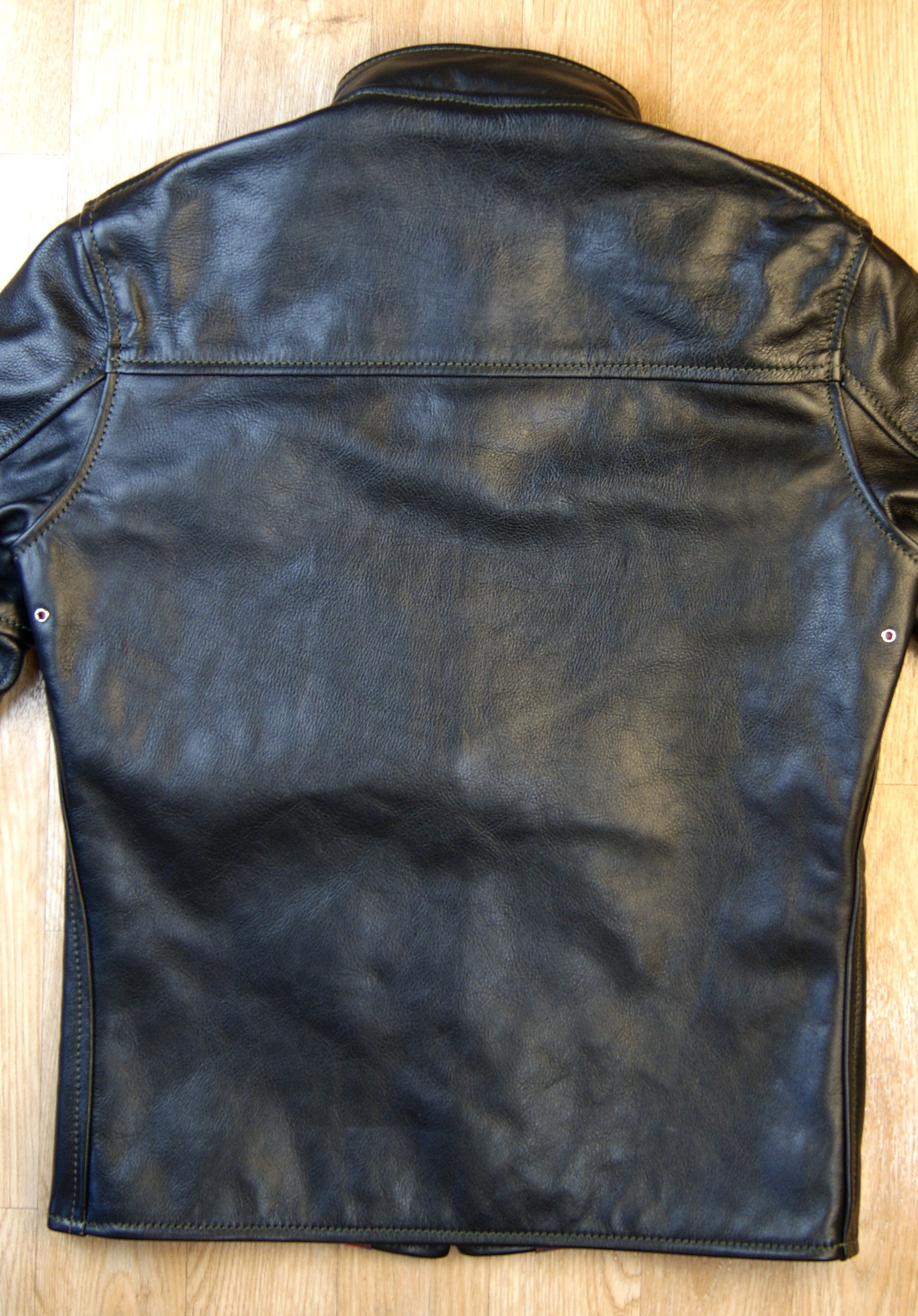 Aero Board Racer, size 36, Blackened Brown Vicenza Horsehide