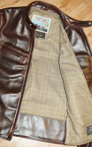 Aero Board Racer, size 40, Brown CXL Steerhide