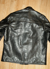 Aero Board Racer, size 46, Black Vicenza Horsehide