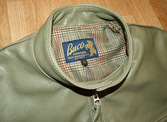 Aero Board Racer, size 40, Olive Vicenza Horsehide