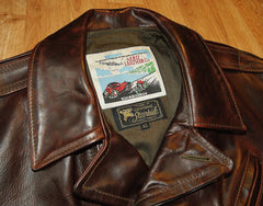Aero Bootlegger, sz 42, Brown Chromexcel Steerhide