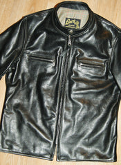 Aero Board Racer, size 42, Black Vicenza Horsehide