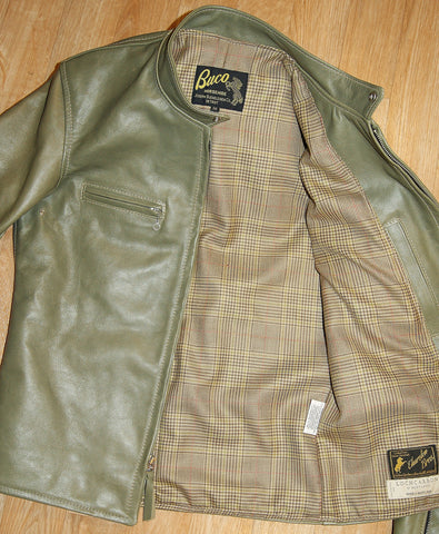 Aero Board Racer, size 38, Olive Vicenza Horsehide