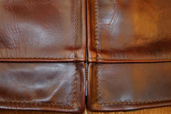 Aero Highwayman, sz 42 (fits like size 46), Brown Chromexcel Horsehide